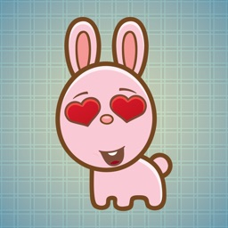 Sticker Me Lovely Bunny