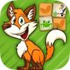 动物配对游戏 - 大脑训练