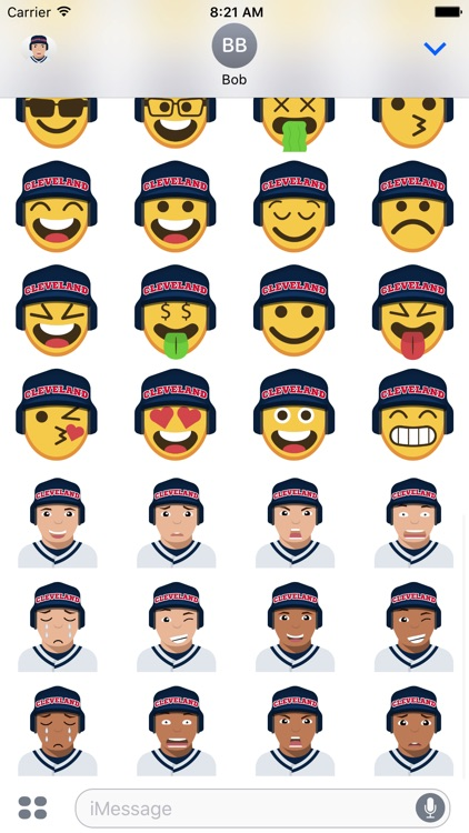 Cleveland Baseball Stickers & Emojis screenshot-4