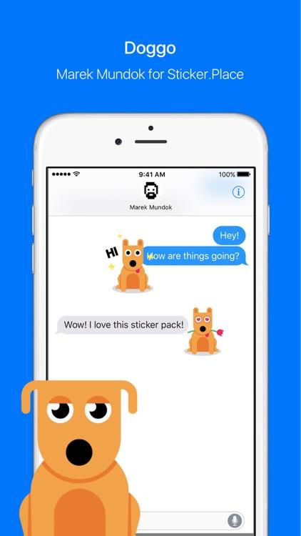 Doggo – Animated Stickers