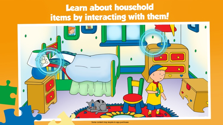 Caillou House of Puzzles screenshot-4