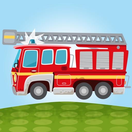 Little Fire Station - Fire Engine & Firefighters