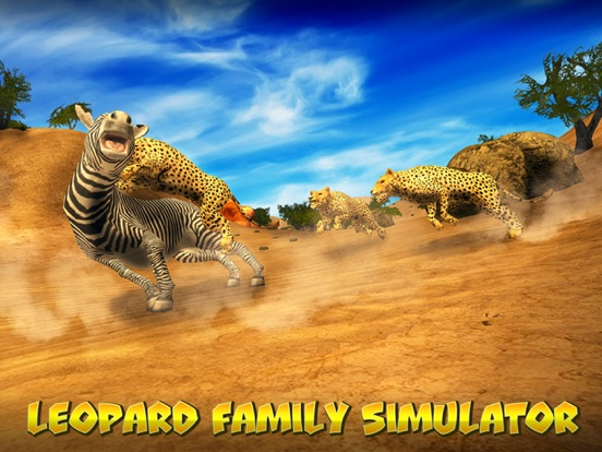 Leopard Family Simulator screenshot 5