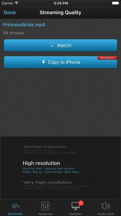 VLC Streamer Free screenshot-3