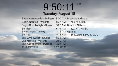 Nav Clock screenshot two