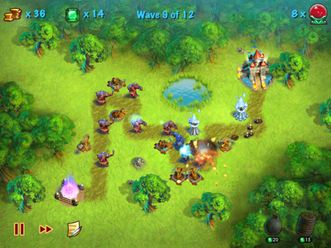 Towers N' Trolls HD Screenshot 1
