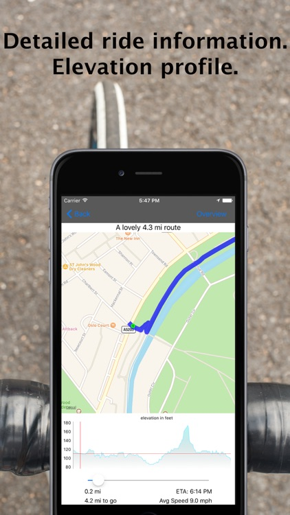CycleMaps: Cycling Route Planner App app image