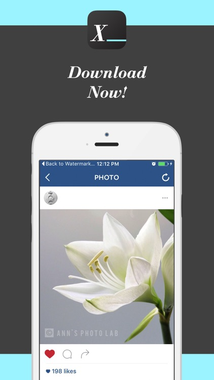 Watermark Studio X - Copyright & Trademark Photos screenshot-4