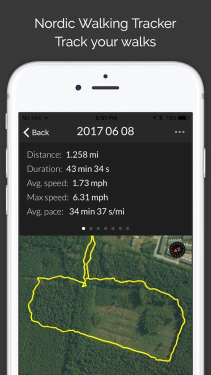Nordic Walking Tracker