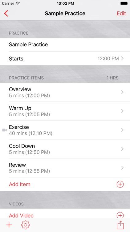 InfiniteBaseball Practice Planner