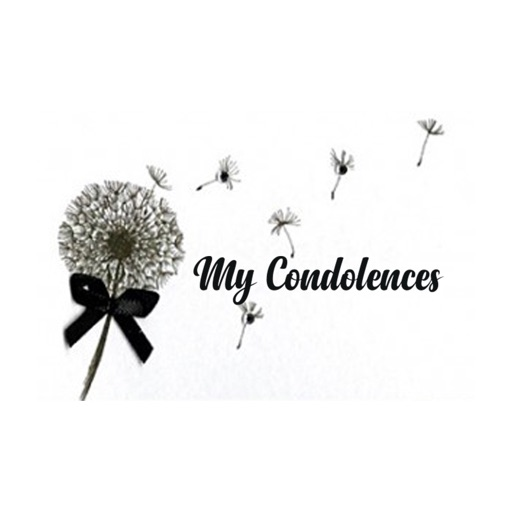 My Condolences Message Stickers by Goh Sok Peng