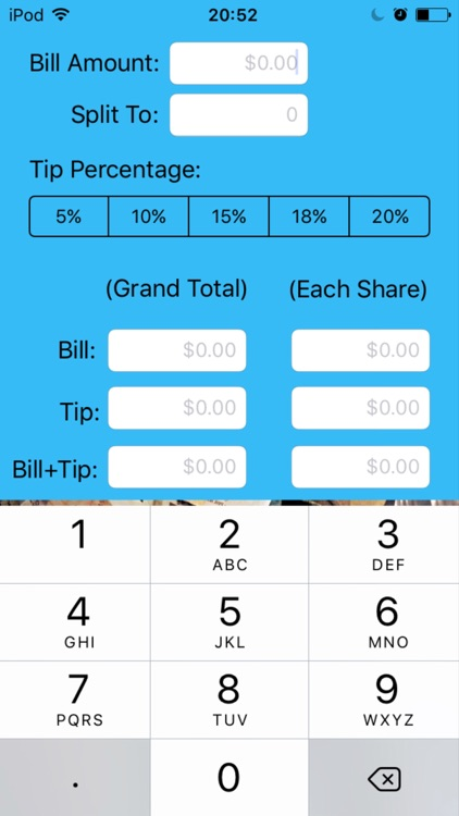 Ava's Tip Calculator
