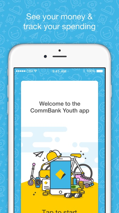 CommBank Youth Screenshot on iOS