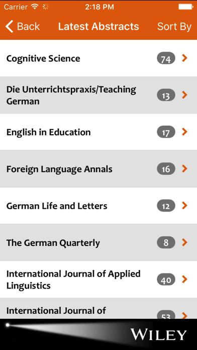 Linguistics Spotlight screenshot two