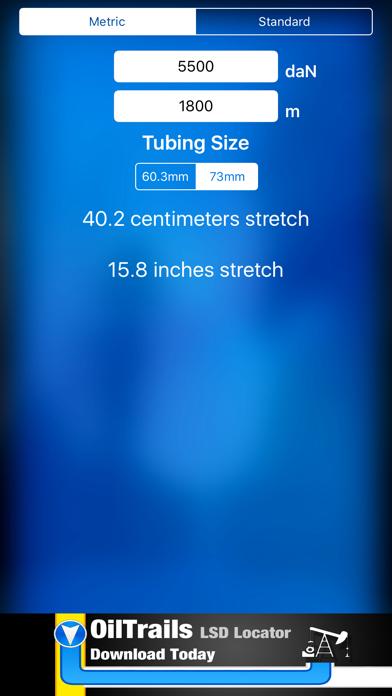 Tubing Stretch Calculator by Ash Point Ltd  (iOS, United