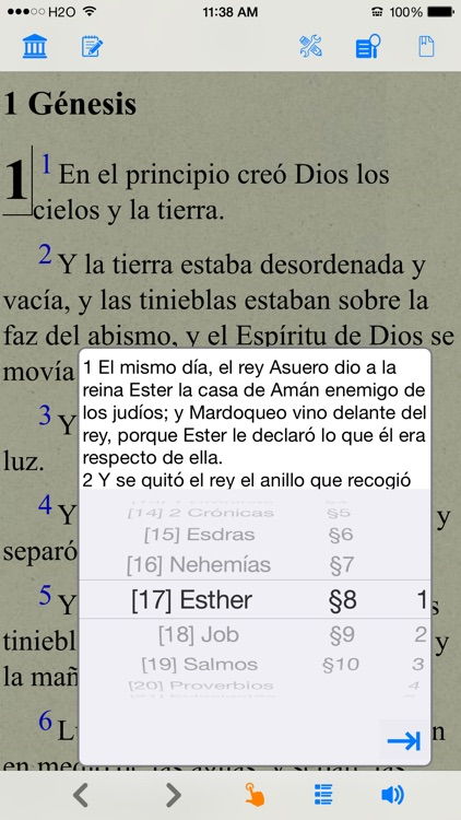 Santa Biblia Version Reina Valera screenshot-2