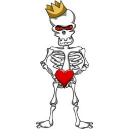 King Bone stickers by Poedil