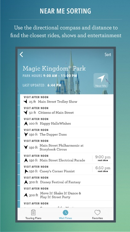 Disney World Maps & Wait Times