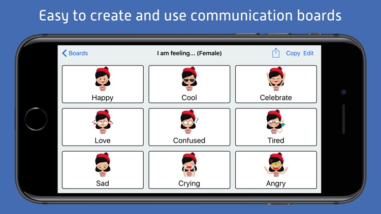 ChatterBoards - AAC Communication Aid