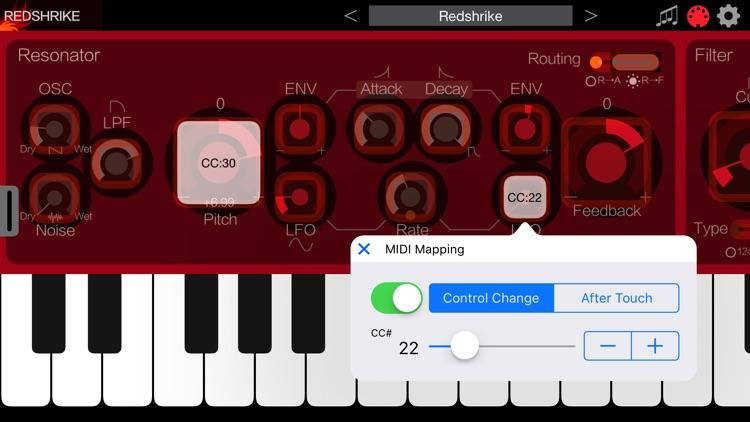 Redshrike Synthesizer screenshot-4