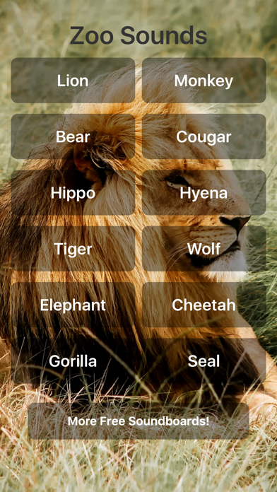 Zoo Sound Effects screenshot one