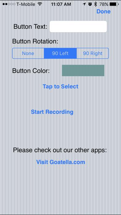 iSpeak Button screenshot two