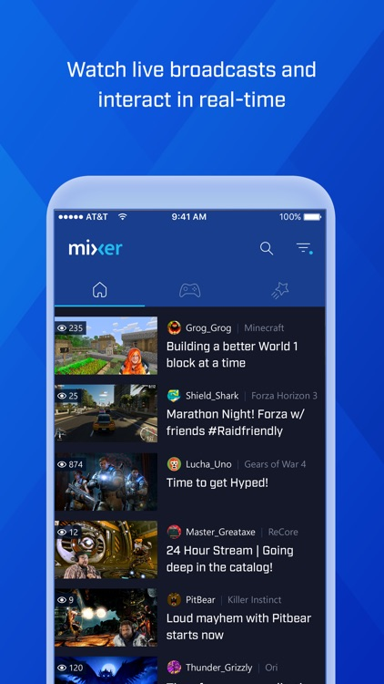 Mixer – Interactive Live Streaming