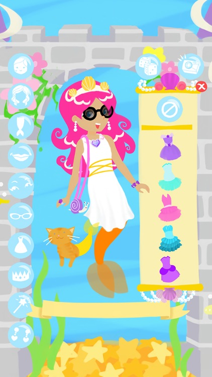 Little Mermaid Fashion Show