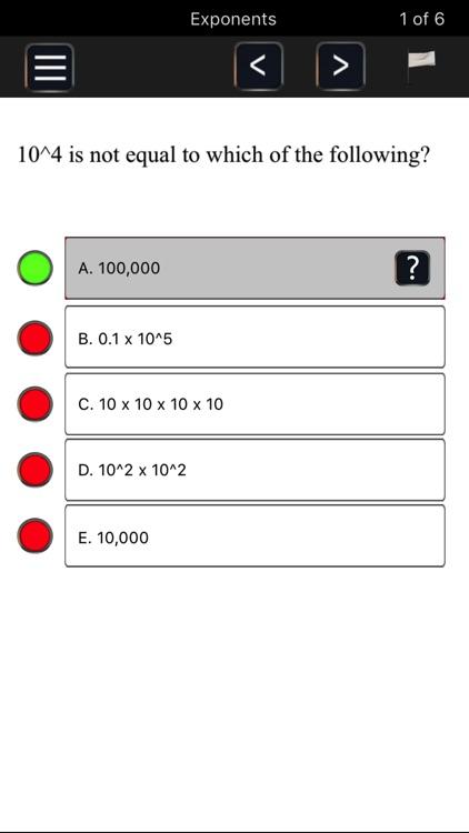 PERT -Florida's College Placement Test Preparation screenshot-3