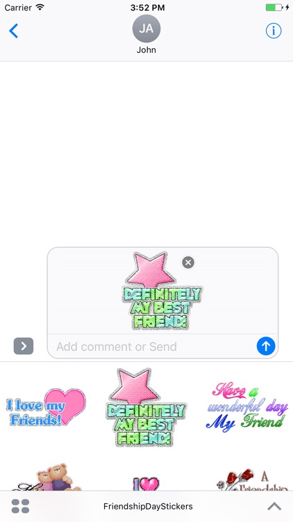 Animated Friendship Day GIF Stickers screenshot-3