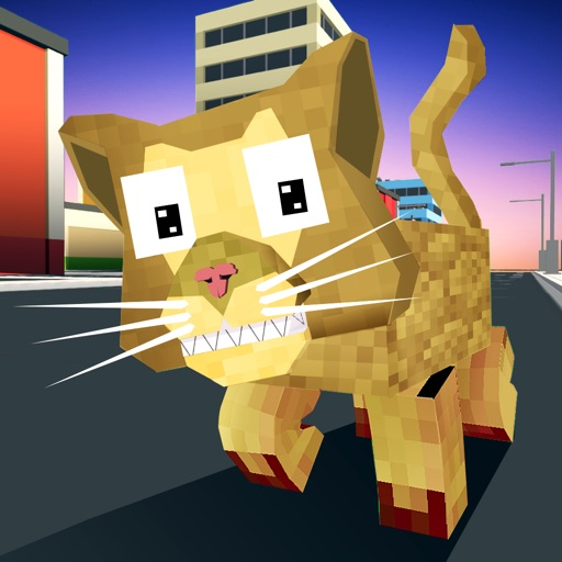 Blocky Cat Simulator Full iOS App