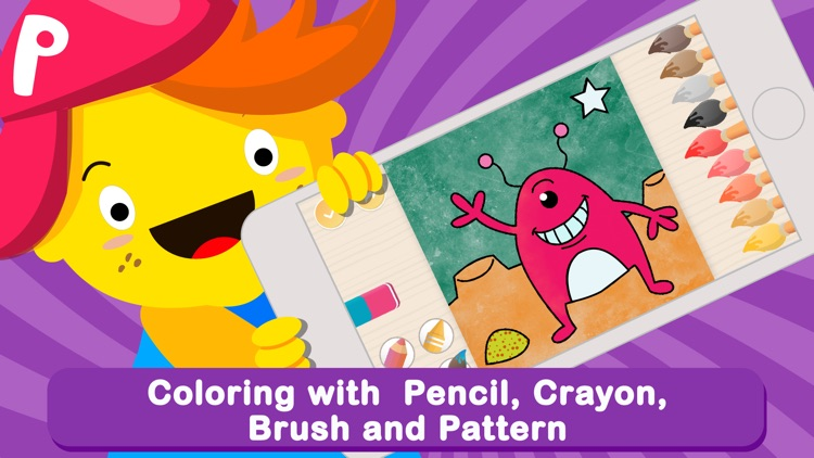Pic Pen Coloring Book For Kids