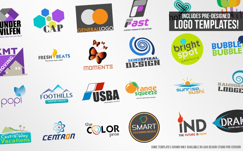 Logo Design Studio Pro 2 Lite Screenshot