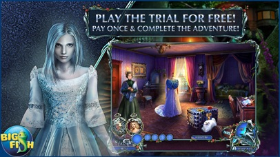 Dark Romance: Curse of Bluebeard - Hidden Objects screenshot 1