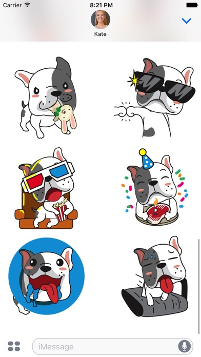 Noah The Frenchie Stickers