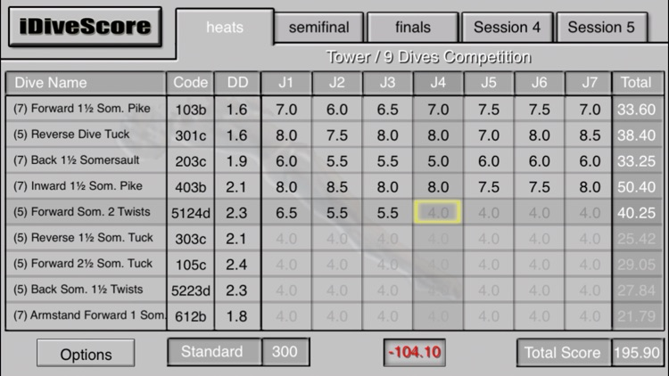 iDiveScore screenshot-0