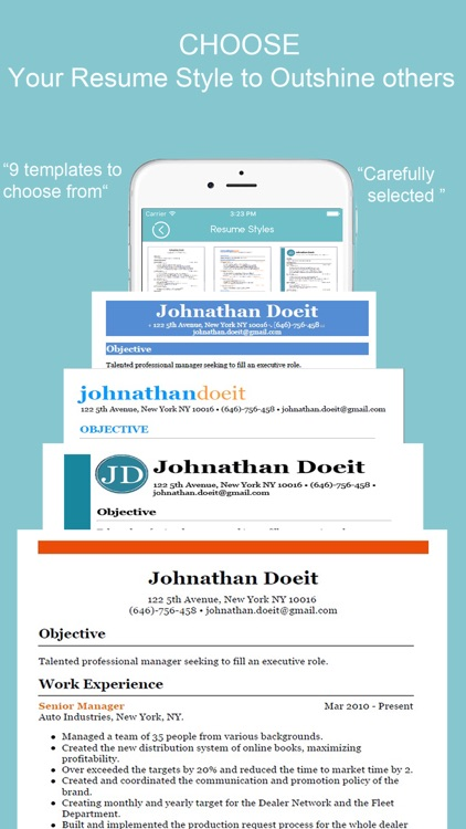 Resume Builder - CV Designer screenshot-0