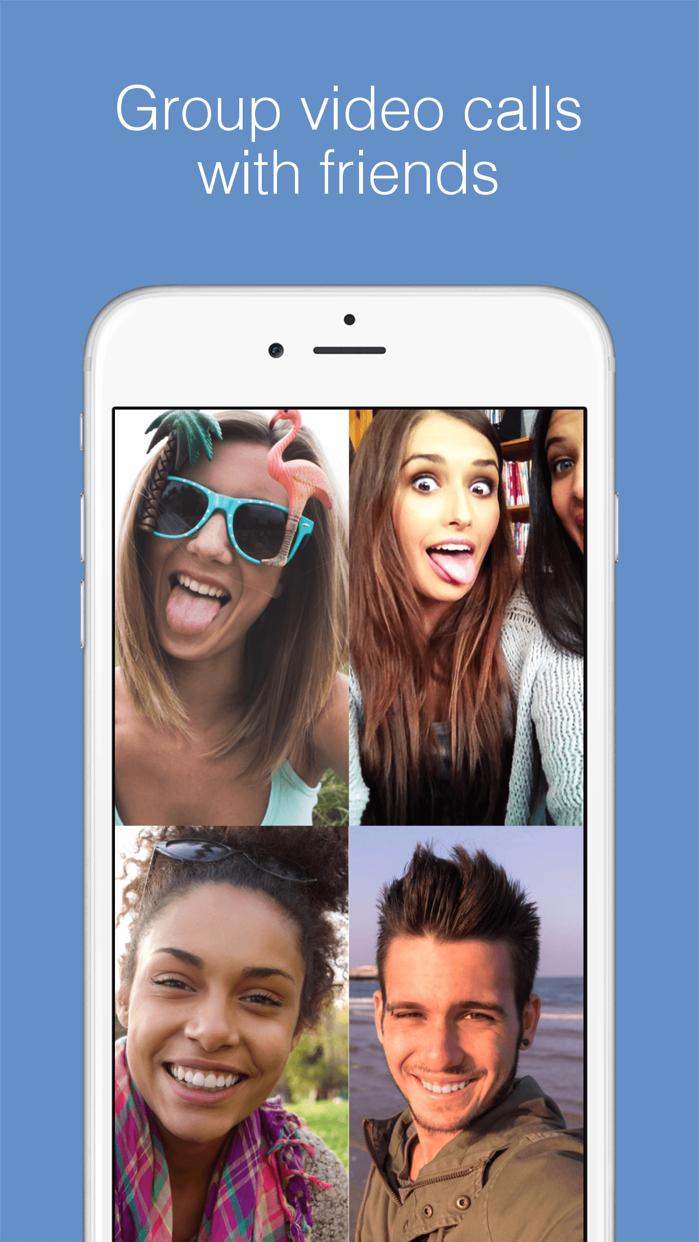 imo video calls and chat Screenshot