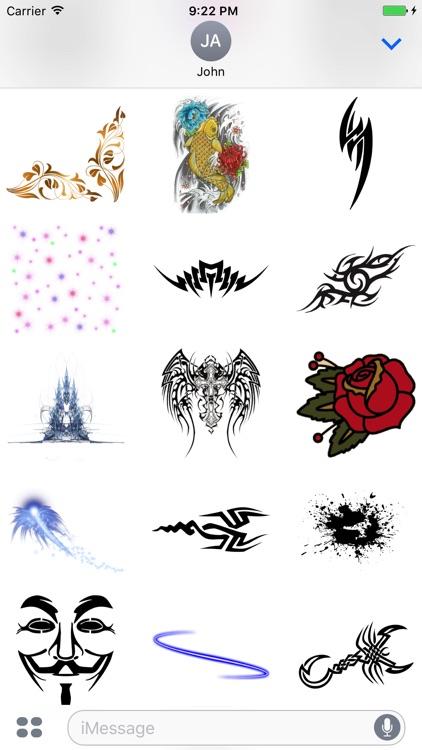 Fun Artistic Stickers