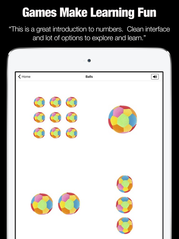 Kids Learning - My First Numbers Counting Game iPad