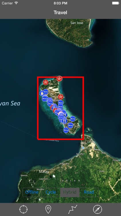 BORACAY ISLAND – GPS Travel Map Offline Navigator