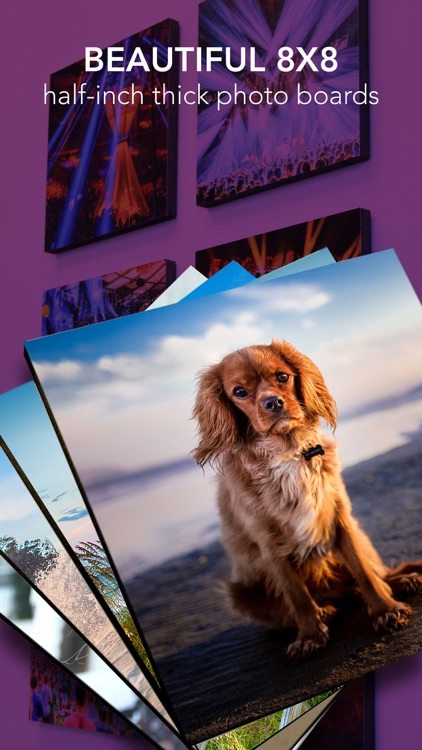 PhotoSquared - Print phone photos to board canvas