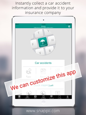 Insurance Adjusters For Auto & Property App - náhled