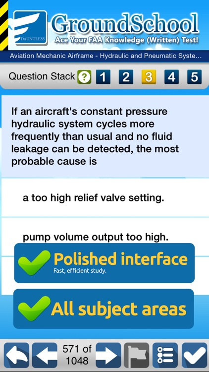 FAA A&P Airframe Test Prep screenshot-2