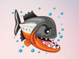 Piranha Stickers