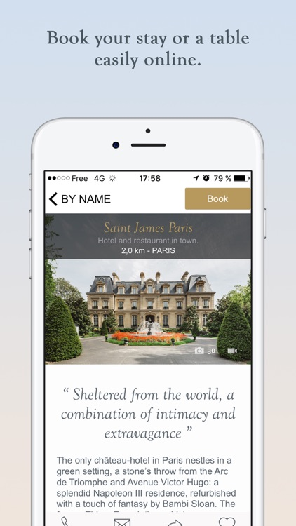 Relais & Châteaux: Luxury Hotels and Restaurants screenshot-4