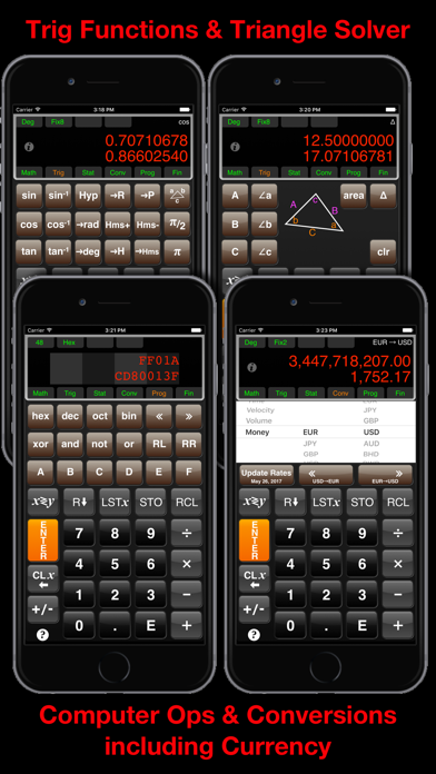 allRPNCalc Calculator screenshot two