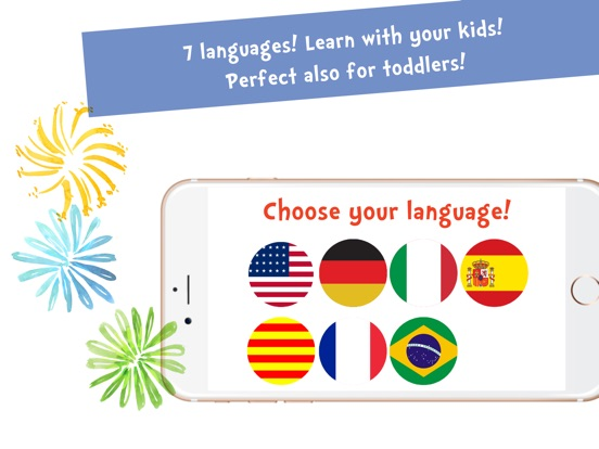 Screenshot #3 for Sami Tiny FlashCards Animals 6 languages kids apps