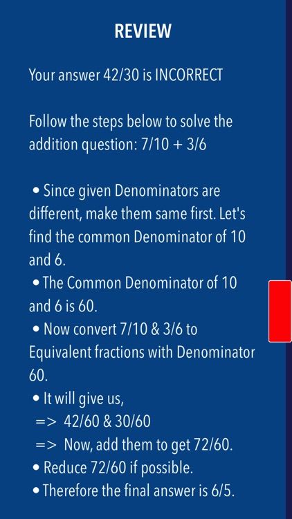 Math Fractions made simple- Basic to Advanced screenshot-3
