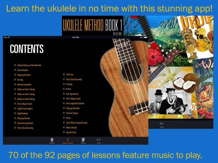 Hal Leonard Ukulele Method #1 screenshot-0